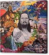 A Tribute To Willie K Acrylic Print