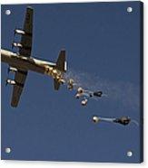 A U. S. Air Force C-130 Hercules Acrylic Print