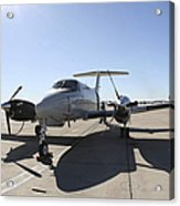 A  Uc-12f King Air Aircraft Acrylic Print