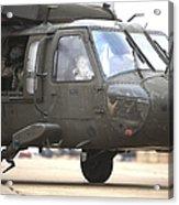 A Uh-60 Black Hawk Taxis Acrylic Print