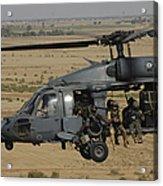 A U.s. Air Force Hh-60 Pavehawk Flies Acrylic Print