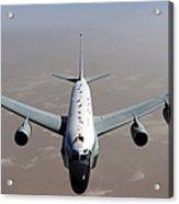 A U.s. Air Force Rc-135vw Rivet Joint Acrylic Print