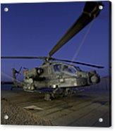 A U.s. Army Ah-64d Apache Helicopter Acrylic Print