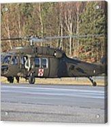 A U.s. Army Uh-60l Blackhawk Acrylic Print