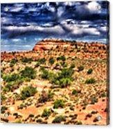 A Utah Landscape Acrylic Print