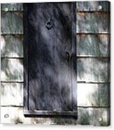A Very Old Door Acrylic Print