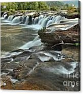 A View Across The New River Acrylic Print