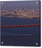 A View From Marin Headlands Acrylic Print