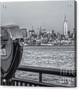 A View From New Jersey II Acrylic Print
