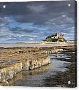 A View Of Bamburgh Castle Bamburgh Acrylic Print