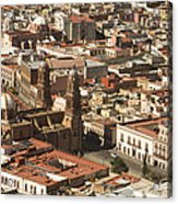 A View Of The Historic Center Acrylic Print