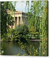 A View Of The Parthenon 1 Acrylic Print by Douglas Barnett