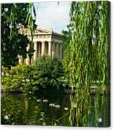 A View Of The Parthenon 15 Acrylic Print
