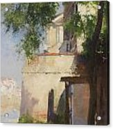 A View Of Venice From A Terrace Acrylic Print