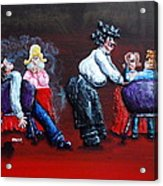 A Waiter's Revenge - Silent But Deadly Acrylic Print