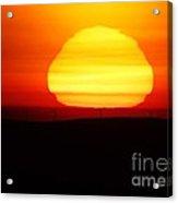 A Wavering Sunrise Acrylic Print