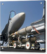 A Weapons Skid Carrying 500-pound Acrylic Print