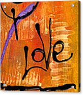 A Whirlwind Called Love Acrylic Print