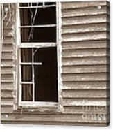A Window Into The Past Acrylic Print