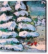 A Winter Feast Acrylic Print