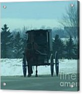 A Winters Day Acrylic Print