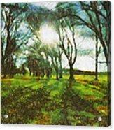 A Winter's Walk Acrylic Print