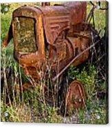 Abandonded Farm Tractor 1 Acrylic Print