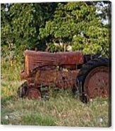 Abandonded Farm Tractor 2 Acrylic Print