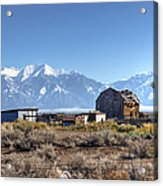 Abandonded Homestead In San Luis Valley Acrylic Print