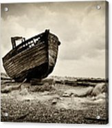 Abandoned At Dungeness Acrylic Print
