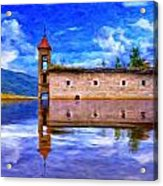 Abandoned Church In Macedonia Acrylic Print