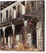 Abandoned Dilapidated Homestead Acrylic Print