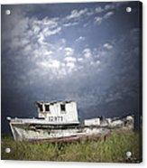 Abandoned Fishing Boat In Washington State Acrylic Print