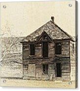 Abandoned Homestead - Okanogan Washington Acrylic Print