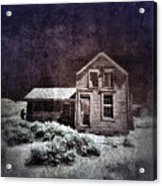 Abandoned House In Infrared Acrylic Print