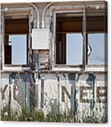 Abandoned On State Line Acrylic Print