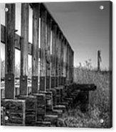 Abandoned Railway  Acrylic Print
