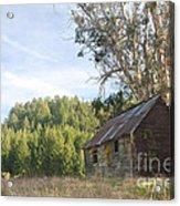 Abandoned Rustic Cabin Acrylic Print by Matt Tilghman