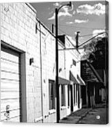 Abandoned Small Town Usa Acrylic Print