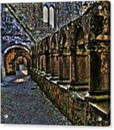Abbey Corridor Acrylic Print