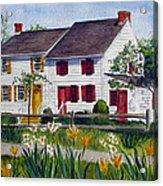 Abbott House Acrylic Print