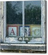 ABC Acrylic Print