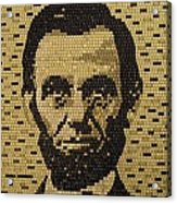 Abe Lincoln Acrylic Print