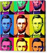 Abe Pop Acrylic Print