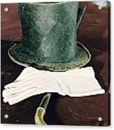 Aberaham Lincolns Hat, Cane And Gloves Acrylic Print