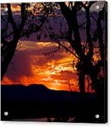 Abiquiu Sunset II Acrylic Print