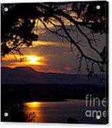 Abiquiu Sunset Acrylic Print