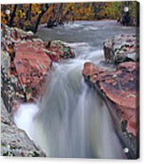 Above The Castor River Shut Ins II Acrylic Print