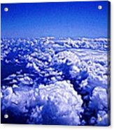 Above The Clouds Abstract Acrylic Print