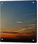 Above Us Only Sky Acrylic Print by Dean Harte